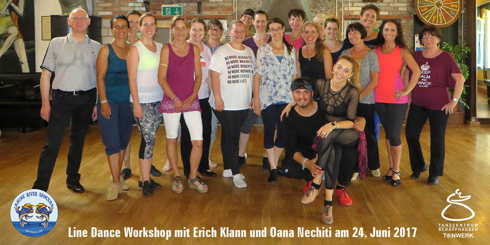 Line Dance Workshop mit Erich Klann und Oana Nechiti
