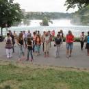 Flashmob Rheinfall Neuhausen 19.07.2013