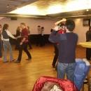 Tanzen beim Umbau